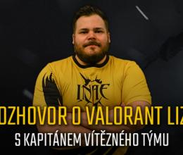 O INAE Valorant lize s kapitánem vítězného týmu Atra
