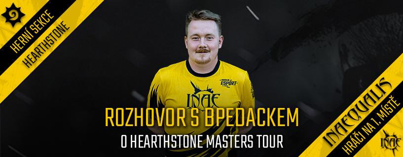 Rozhovor s Bpedackem o Hearthstone Masters Tour